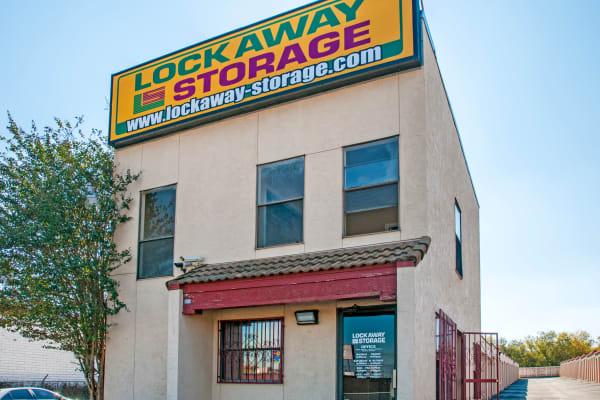 Front office at Lockaway Storage in San Antonio, Texas