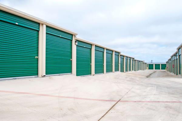 Exterior units at Lockaway Storage in San Antonio, Texas