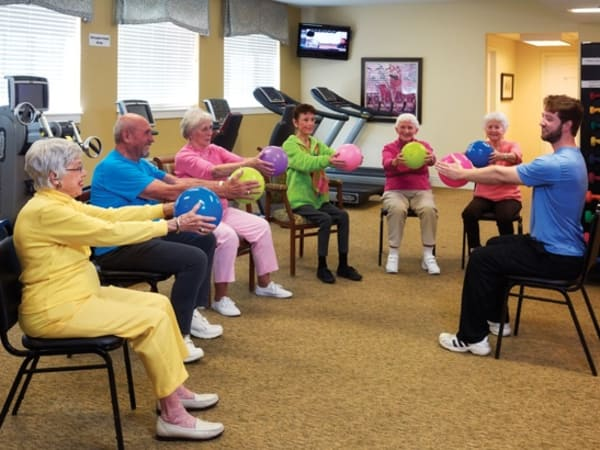 Resident services at senior living community in Fort Collins, CO
