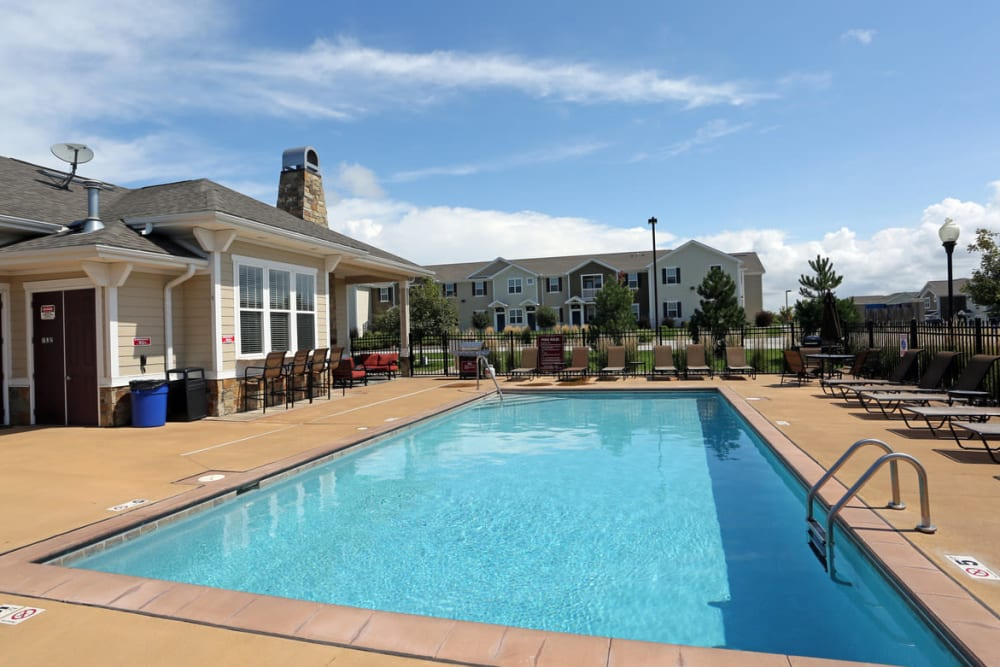 Resort Style Pool at  Springs at Bettendorf in Bettendorf