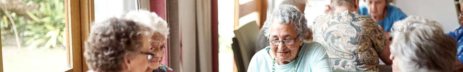 Senior living options at the senior living community in South Carolina