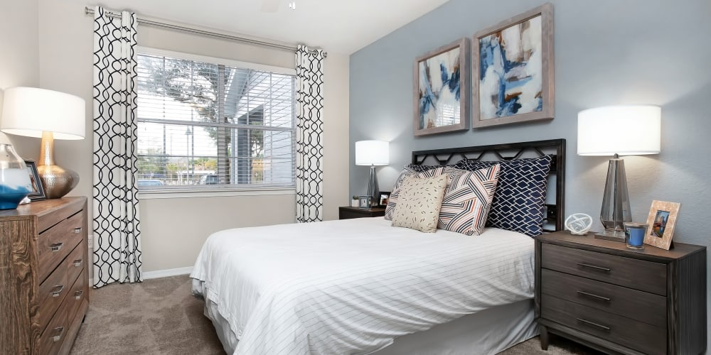 The Aspect model bedroom unit at Kissimmee, Florida