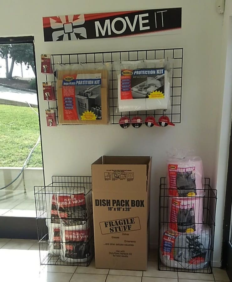 Packing supplies available at StorQuest Self Storage in Vallejo, California