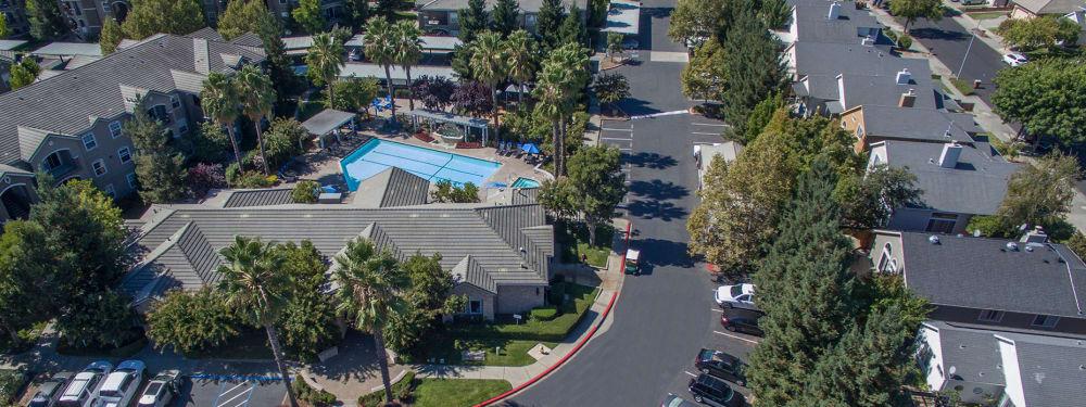 Picturesque scenery near Hawthorn Village Apartments in Napa, California