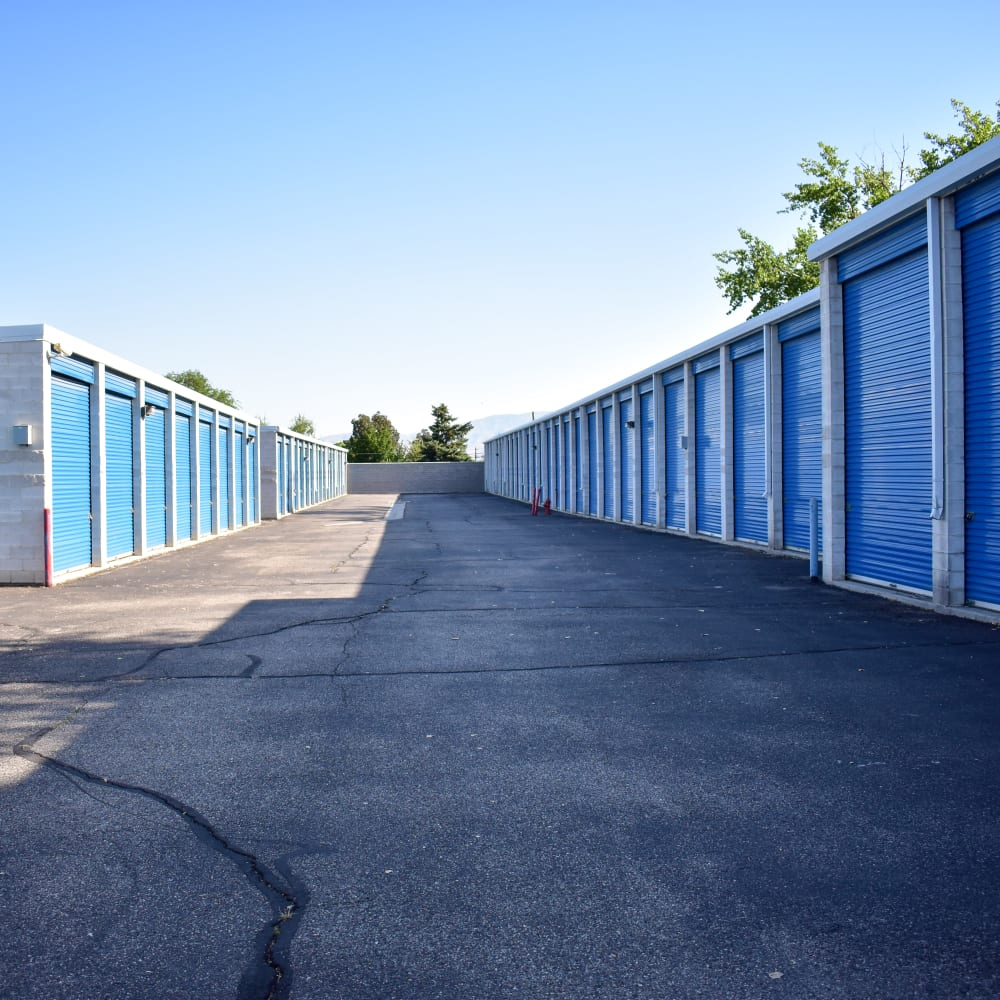 Large units capable of accommodating RVs at STOR-N-LOCK Self Storage in Cottonwood Heights, Utah