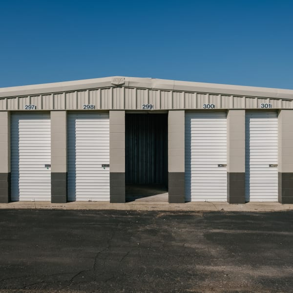 Storage units at StayLock Storage in Saint Joseph, Michigan