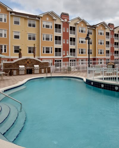 Services and amenities at Villa Grande on Saxon in Orange City, Florida