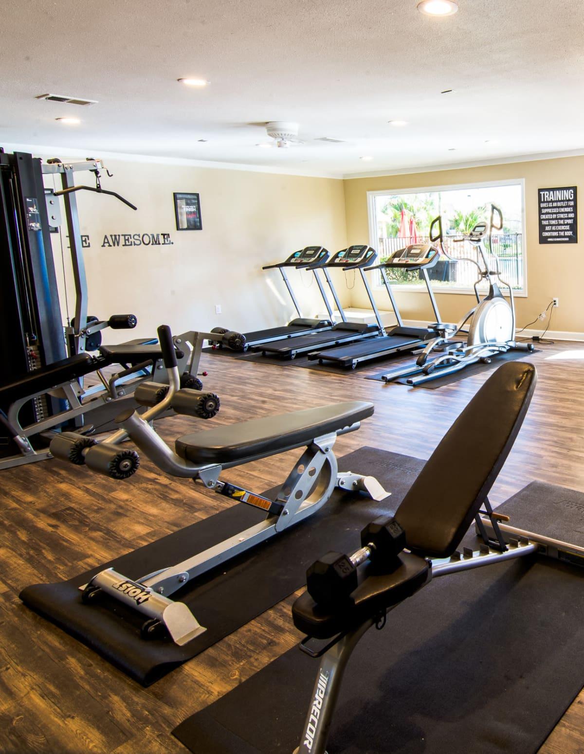 Reserve on Garth Road fitness center