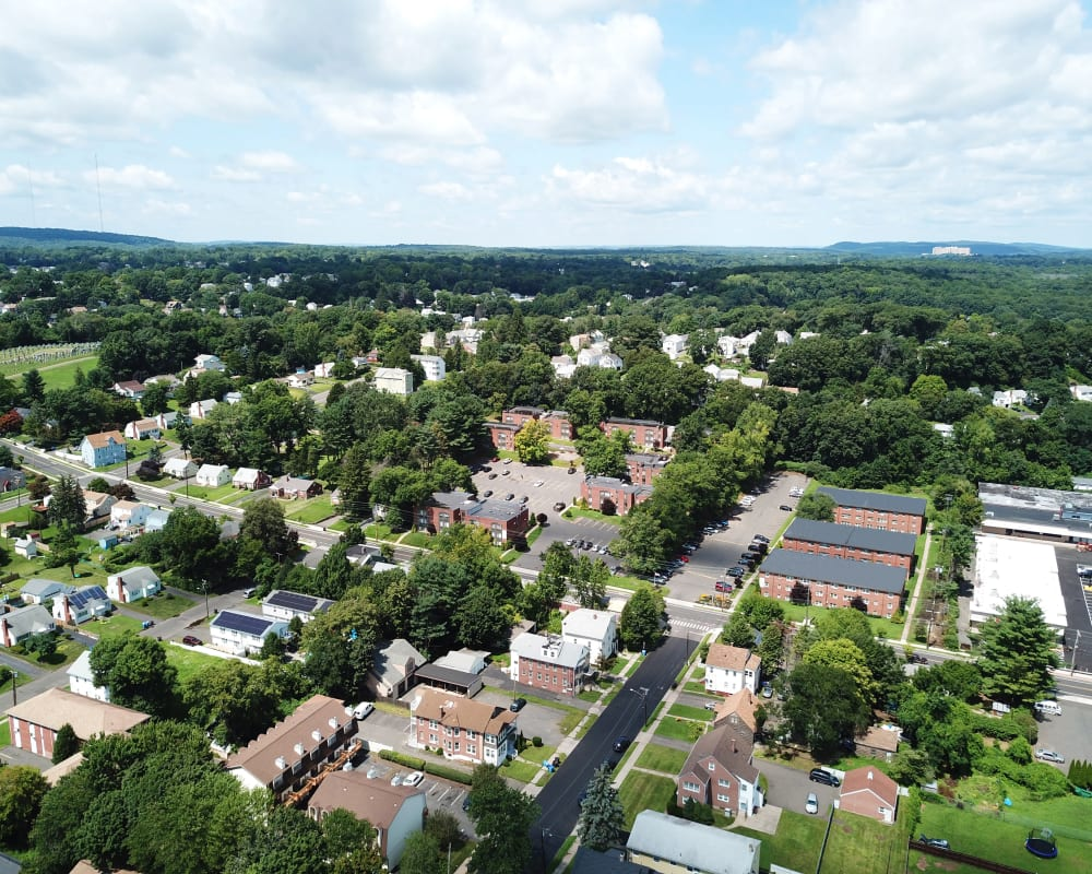 View of New Britain in Connecticut