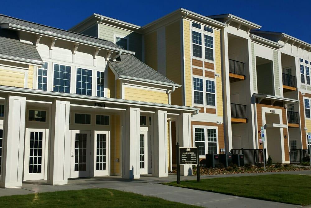 Beautiful building at Watercourse Apartments in Graham, North Carolina