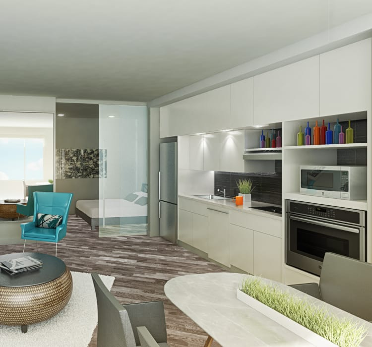 Apartment Features at AdMo Heights