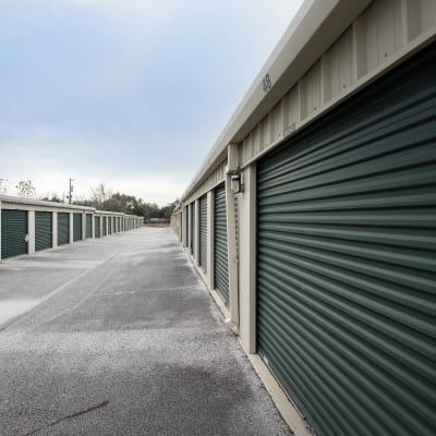 Storage view at Neighborhood Storage in Ocala, FL