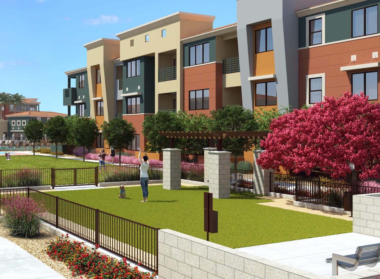 The Villa Vita apartments in Peroia, Arizona