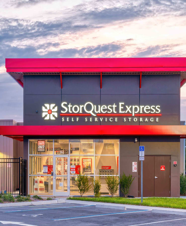 The exterior of StorQuest Express - Self Service Storage in Sonora, California