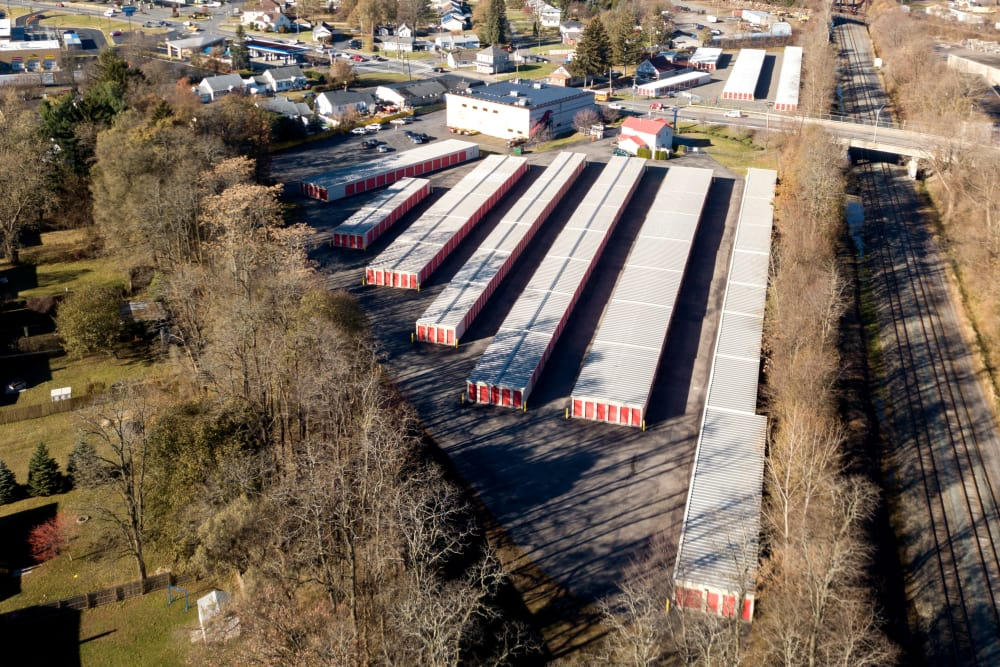 Aerial view of Prime Storage in Schenectady, NY