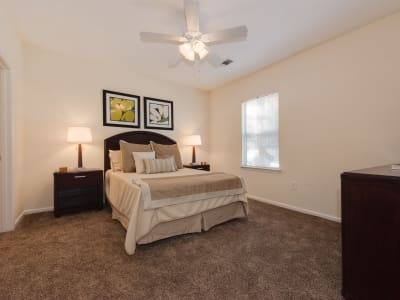 The Waterway Apartment Homes offers a bedroom in Lexington, SC