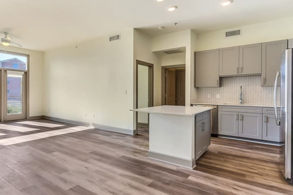 Open floorplan with great views at Seville Uptown in Dallas, Texas