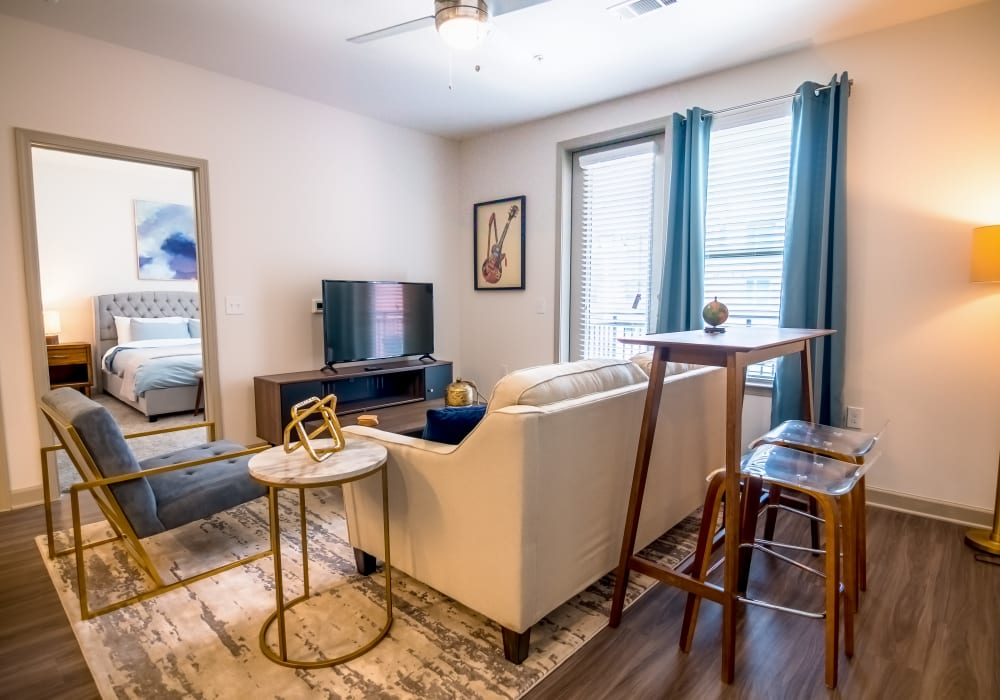 Furnished well-lit apartment at The Luxe at Cedar Hill in Cedar Hill, Texas
