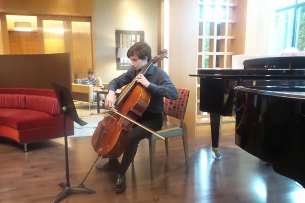 Student performing at Spring Fling Student Recital at All Seasons of Birmingham in Birmingham, Michigan