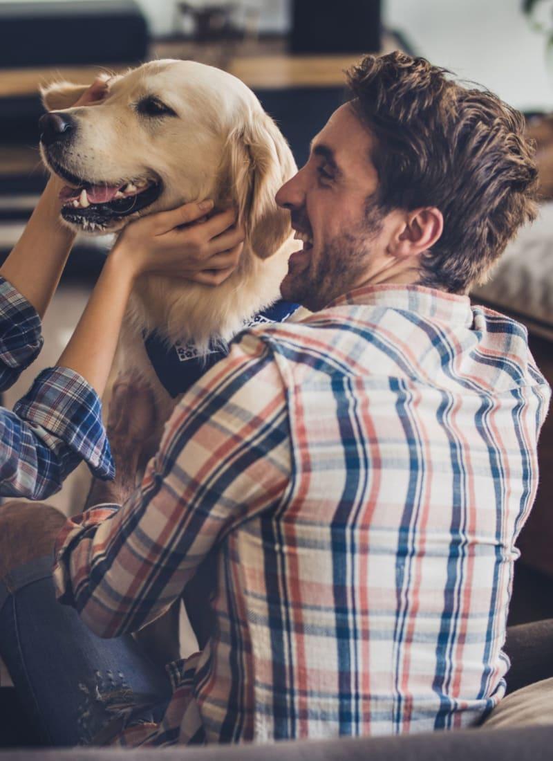 Two pets maximum per apartment at Marquis on Lakeline in Cedar Park, Texas