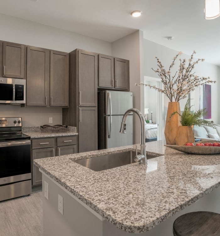 Beautiful kitchen at Alta Citizen in Newport News, Virginia