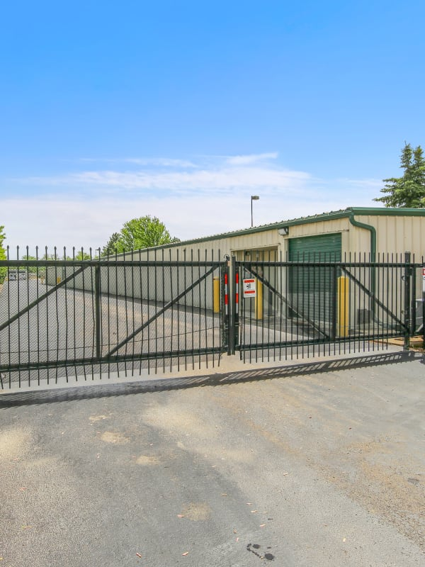 Easy gate access at Global Self Storage
