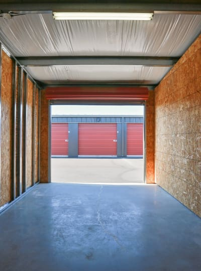 Storage units at Nest Self Storage in Salem, Oregon