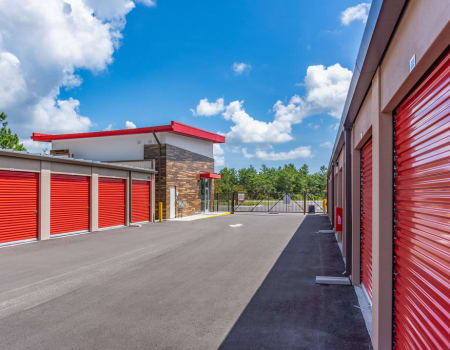 Drive-up units available at StorQuest Express - Self Service Storage in Palm Coast, Florida