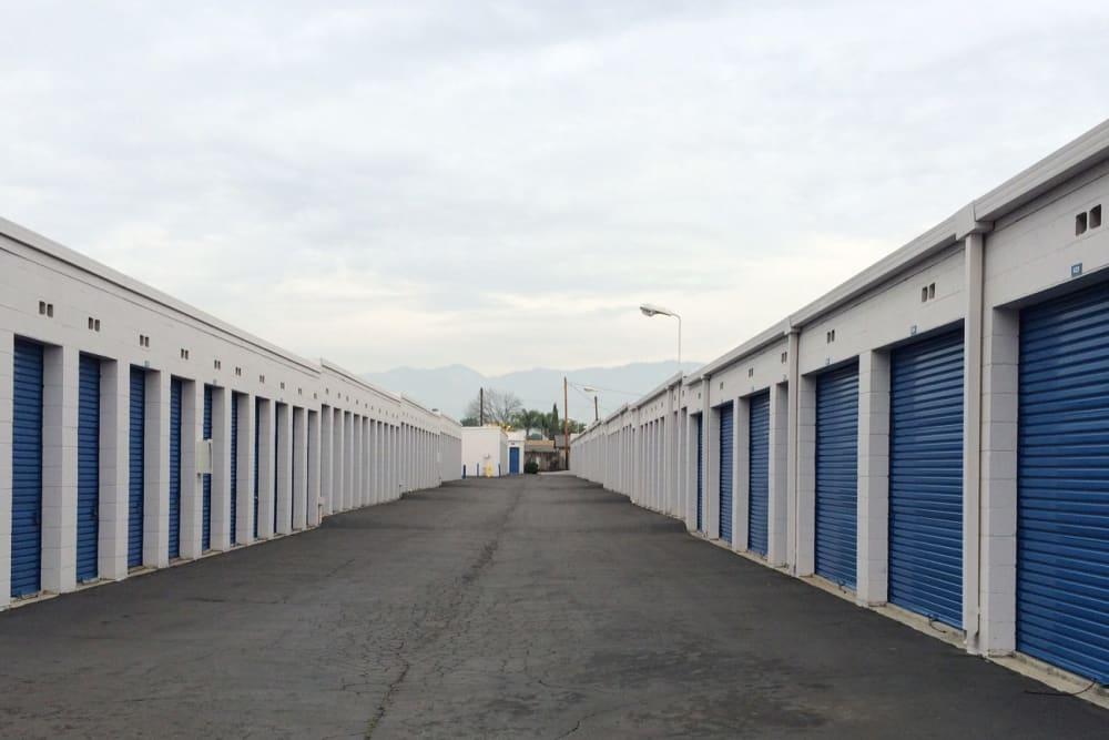 Storage Unit Driveway at Storage Etc... Rosemead