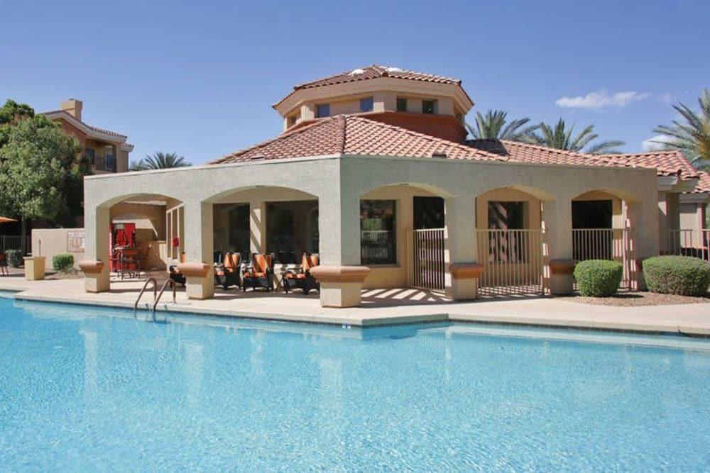 Beautiful swimming pool at The Regents at Scottsdale in Scottsdale, Arizona