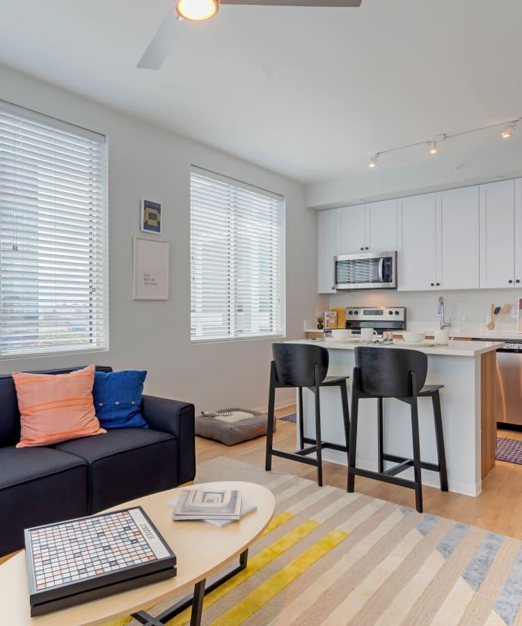 View our student apartment floor plans at HERE Atlanta in Atlanta, Georgia