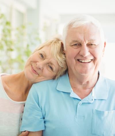 Couple at Maplewood Senior Living in Westport, Connecticut