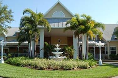 Front Entrance at Grand Villa of Largo in Largo, FL