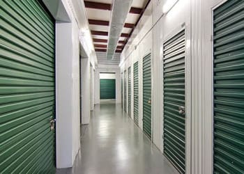 Climate-controlled storage units at Metro Self Storage in Buffalo Grove, Illinois