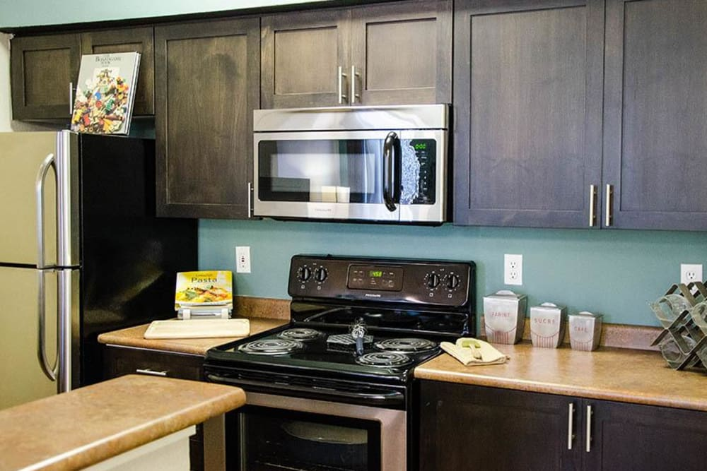 Spacious Kitchen at Wildreed Apartments