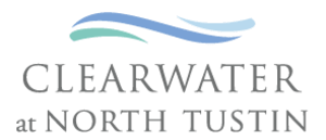 Clearwater at North Tustin Logo