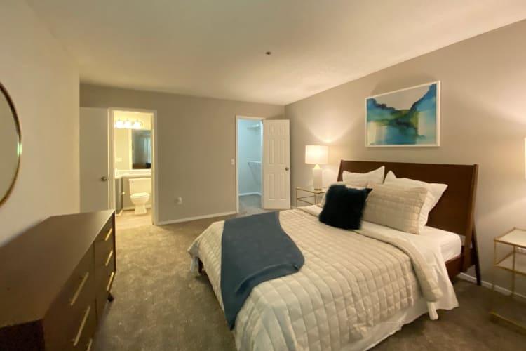 Bedroom at 300 Riverside