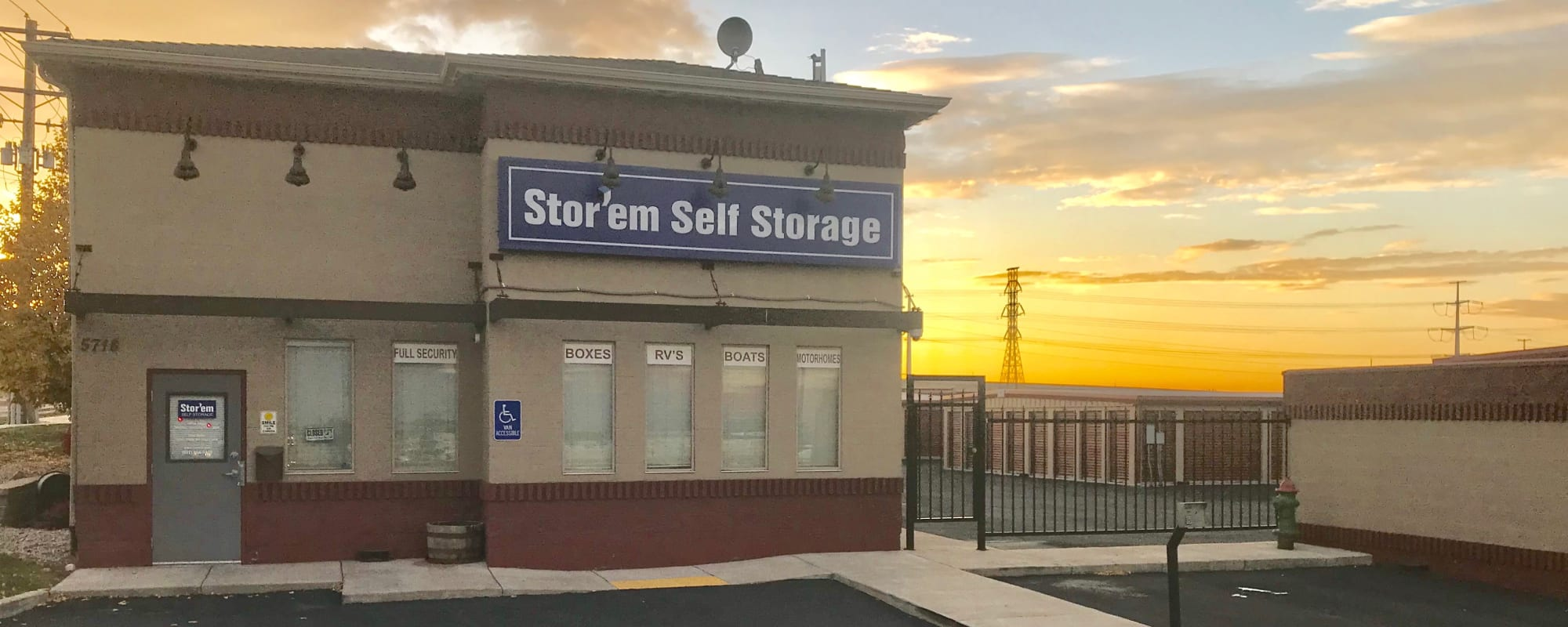 Stor'em Self Storage self storage in West Valley City, Utah