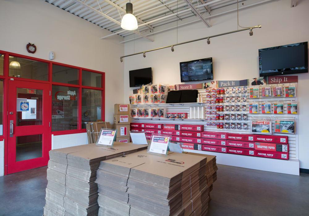 Packing supplies at Apple Self Storage - Waterloo in Waterloo, Ontario