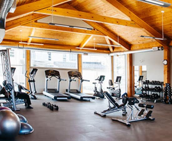 Enjoy our Modern fitness facility at Elata