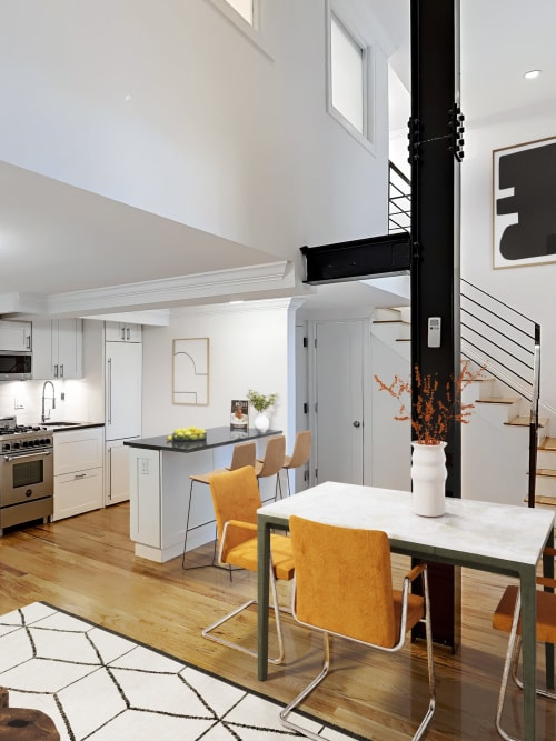 Dining room at 210-220 E. 22nd Street in New York, New York