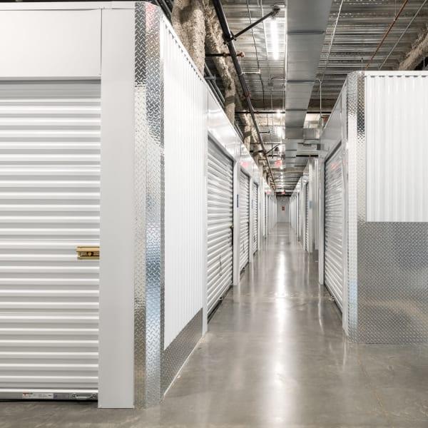 Climate-controlled interior units at StorQuest Self Storage in Escondido, California