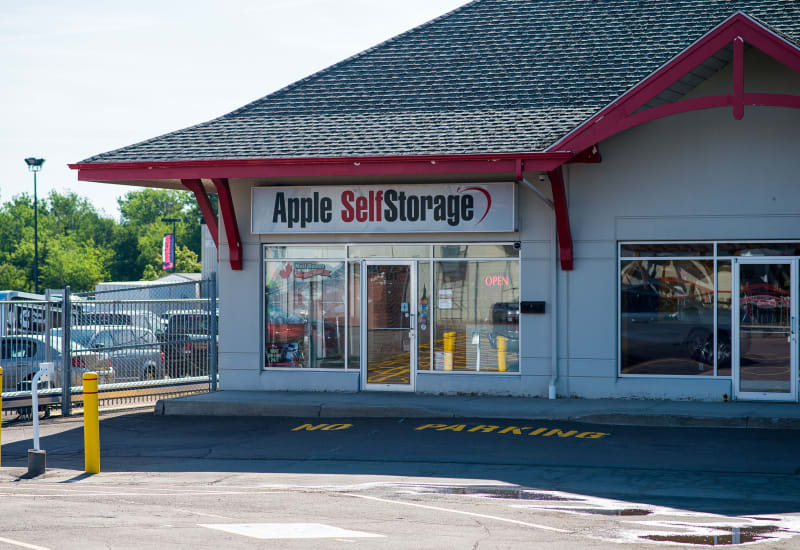Apple Self Storage in Moncton