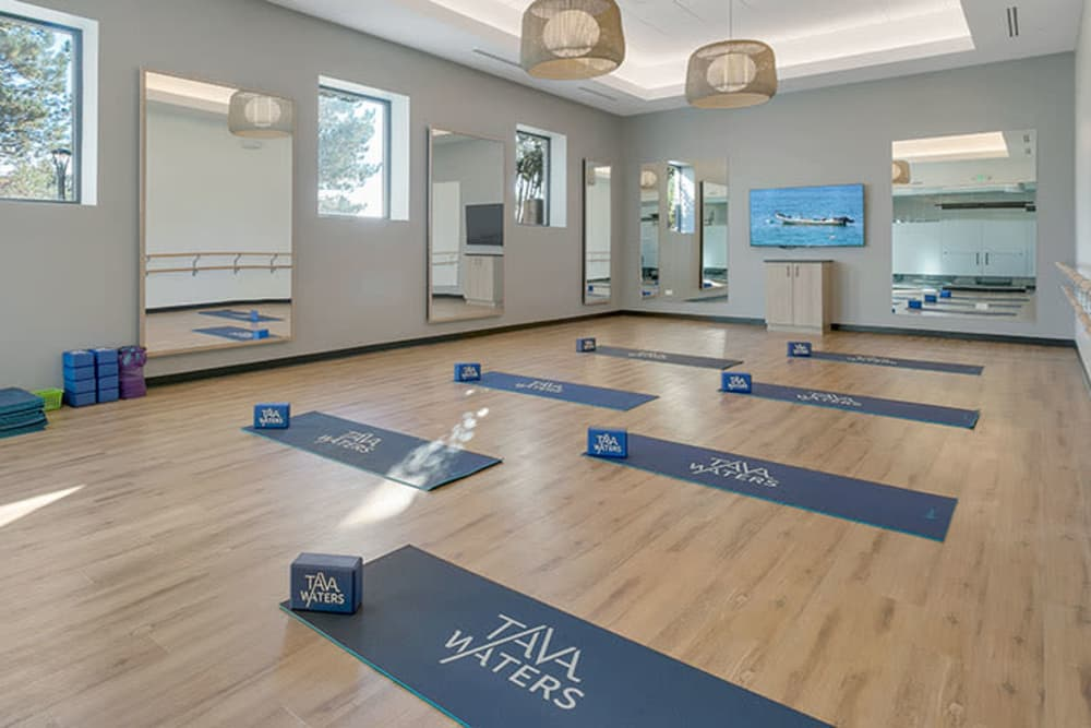 Fitness room in Denver, Colorado