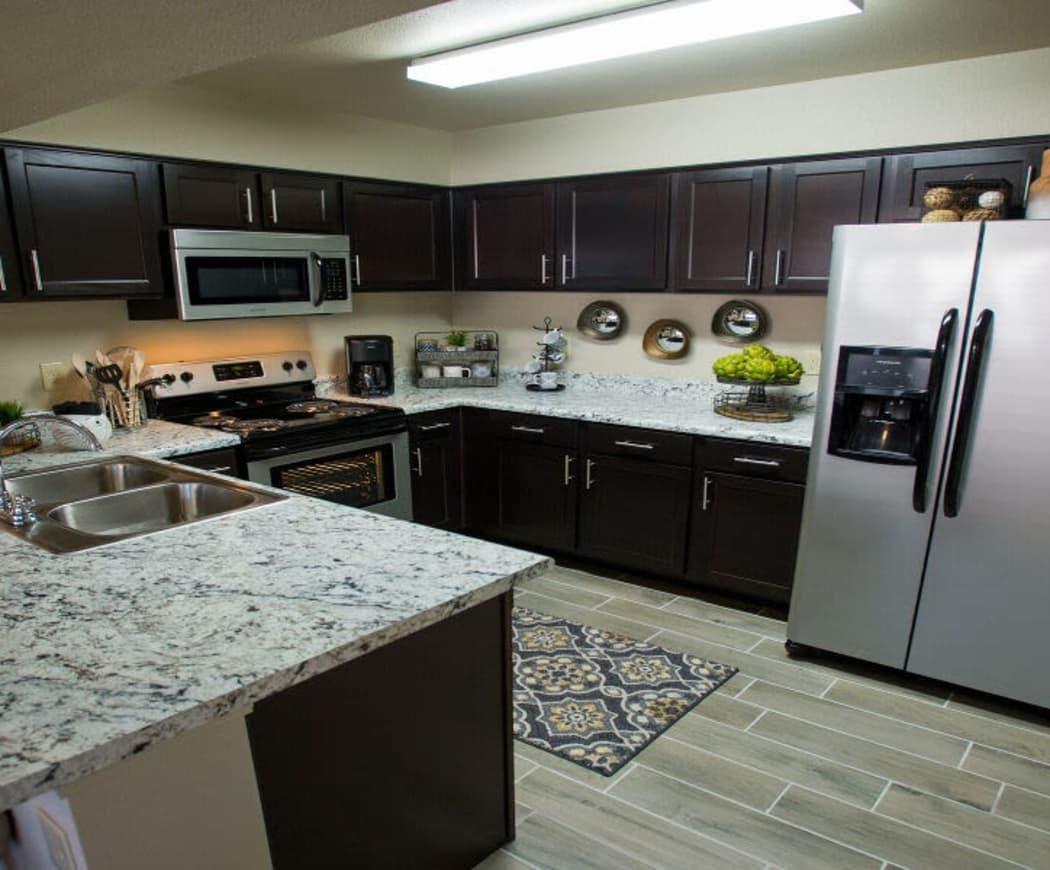 Kitchen at Watercress Apartments in Maize, Kansas
