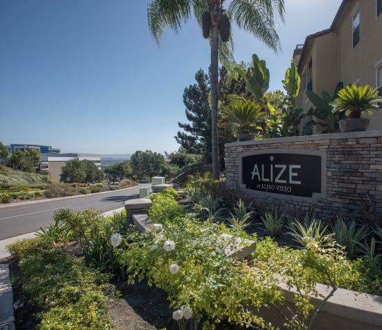 Alize at Aliso Viejo, a sister community to Hidden Hills Condominium Rentals in Laguna Niguel, California