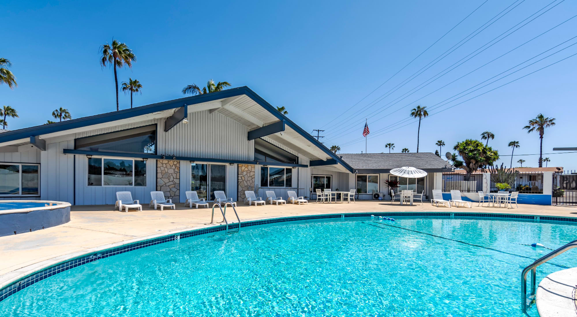 Mobile homes at Brentwood in Chula Vista, California