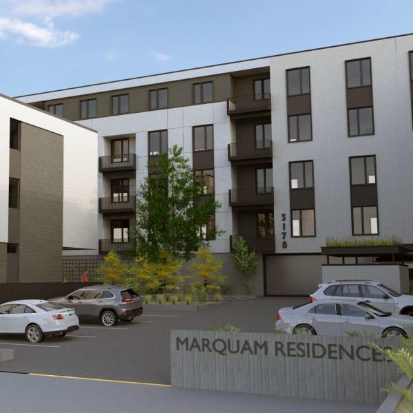 Rendering of Marquam Heights in Portland, Oregon