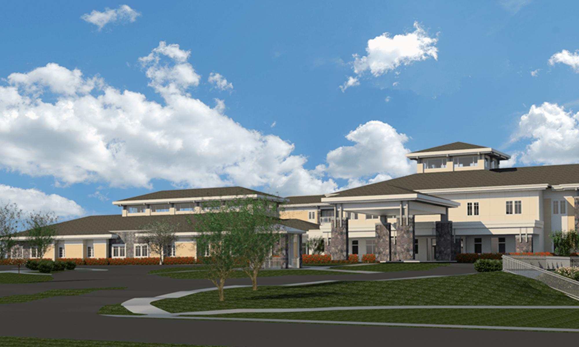 Exquisite senior living facility located in Wilmington, Delaware