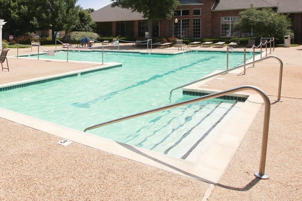 Beautiful pool at Prairie Springs in Oklahoma City, Oklahoma